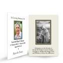 Religious Praying Virgin Mary In Remembrance Laminated Death Memorial Wallet Cards UK - MAR50