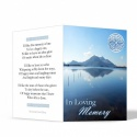 Celtic Knot Irish Memorial Cards Ireland Themes by Memorial Card Shop  - CEL02