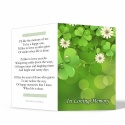 Shamrock Irish In Memoriam Bookmarks Ireland Theme In Loving Memory Of  Personalised Photo - CEL24