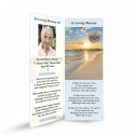 Sunset Ireland Celtic Design Irish Funeral Memory Cards In Remembrance Memorial Bookmark - CEL32