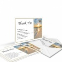 Sunset Ireland Celtic Design Irish Funeral Memory Cards In Remembrance Memorial Funeral Notes - CEL32