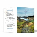 Traditional Irish  Laminated Catholic Irish Custom Folding Memorial Cards Online In Memoriam Card Catholic Irish Memorial Cards