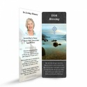 Ireland Lakes Catholic Prayer Cards Laminated Bookmark In Loving Memory Of Loved One - CEL49