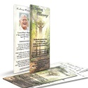 Catholic Irish Blessing Laminated Irish Condolence Remembrance Memorial Prayer Cards - CEL68