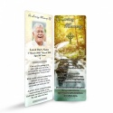 Catholic Irish Prayer Laminated Irish Condolence Remembrance Memorial Bookmark - CEL69