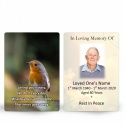 FLW124 Memorial Wallet Card