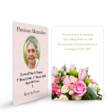 Memorial Holy Cards Laminated
