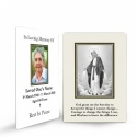 Blessed Virgin Mary Immaculate Conception Funeral Memorial Laminated Prayer Wallet Card - MAR45