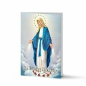 Blessed Virgin Mary Immaculate Conception Catholic Memorial Laminated Folding Memorial Card - MAR01