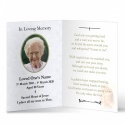 Religious Praying Virgin Mary In Remembrance Laminated Memorial Cards UK - MAR07