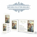 Religious Praying Virgin Mary In Remembrance Laminated Memorial Bookmarks Catholic - MAR19