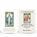 Our Lady Of Knock In Memoriam Laminated Memorial Prayer Wallet Cards Catholic - MAR20