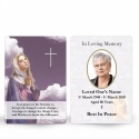Our Lady Blessed Virgin Mary Religious Catholic Personalised Photo Memorial Wallet Card - MAR22