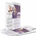 Our Lady Blessed Virgin Mary Religious Catholic Personalised Photo Memorial Bookmark - MAR22