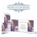 Our Lady Blessed Virgin Mary Religious Catholic Personalised Photo Memorial Card - MAR22
