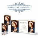 Catholic Online Photo Memorial Bookmark with Blessed Virgin Mary Jesus - MAR30
