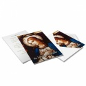 Catholic Online Photo Memorial Cards with Blessed Virgin Mary Jesus - MAR30
