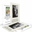 Saint Anthony Catholic Custom Photo Memorial Wallet Prayer Card with Blessed Virgin Mary Jesus - ST19