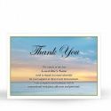 SCE33 Memorial Thank You Card