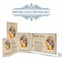 Saint Padre Pio Traditional Catholic Personalised Laminated Folded Memorial Card - ST01