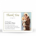 Saint St Anthony Funeral Memorial Acknowledgement Card - ST06