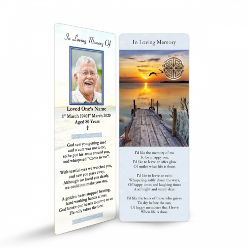 CEL17 Memorial Bookmark
