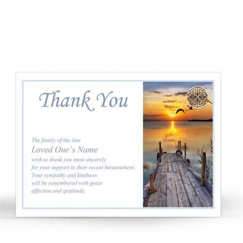 CEL17 Memorial Thank You Card
