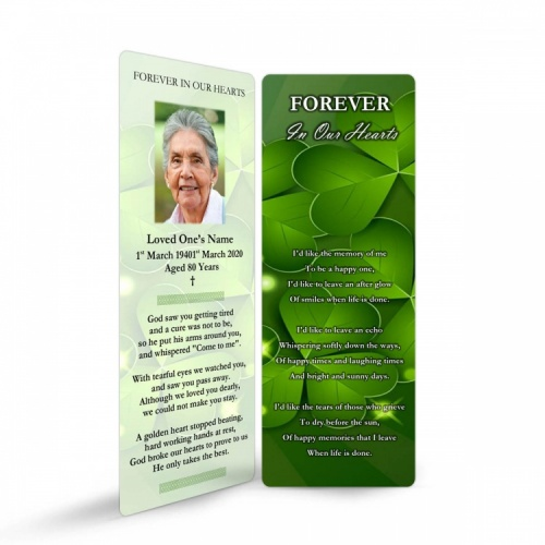CEL19 Memorial Bookmark