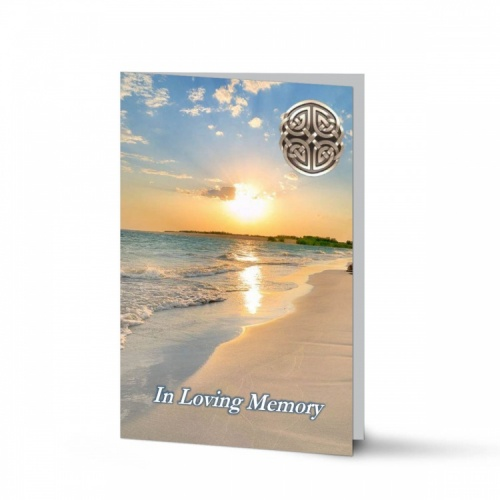Traditional Irish  Catholic Irish Custom Folding Memorial Cards Online In Memoriam Card Catholic Irish Memorial Cards