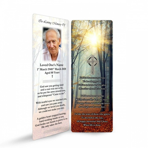 CEL41 Memorial Bookmark