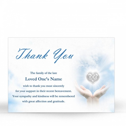 CEL62 Memorial Thank You Card