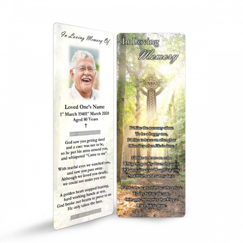 CEL68 Memorial Bookmark