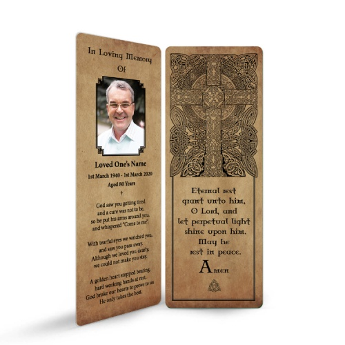 CEL43 Memorial Bookmark