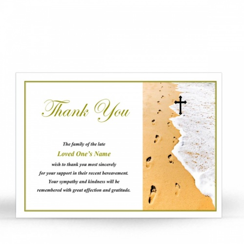 CRS06 Memorial Thank You Card