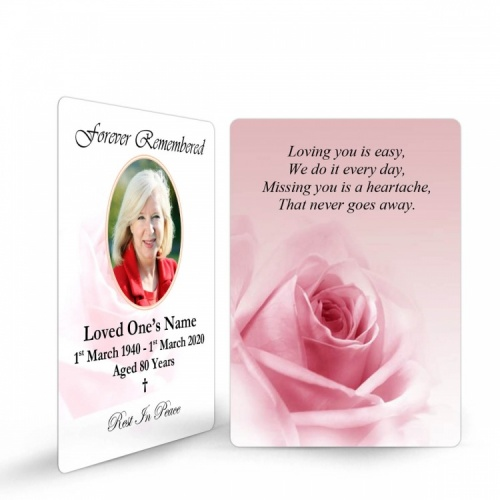 Buy Memorial Wallet Cards