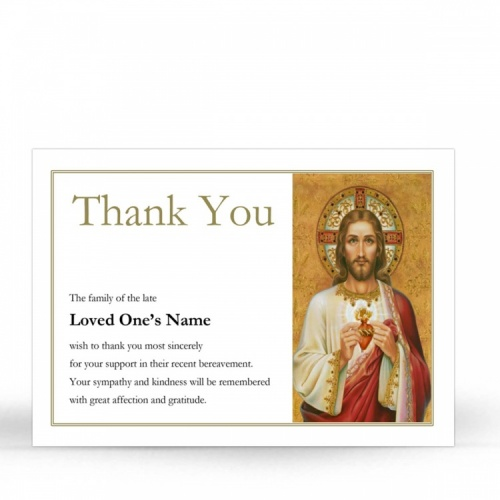 JC09 Memorial Thank You Card