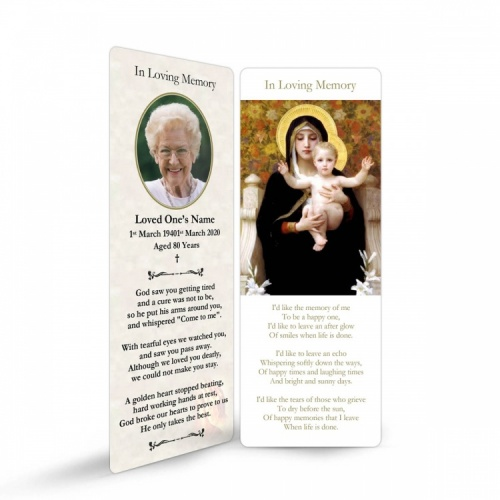 MAR15 Memorial Bookmark