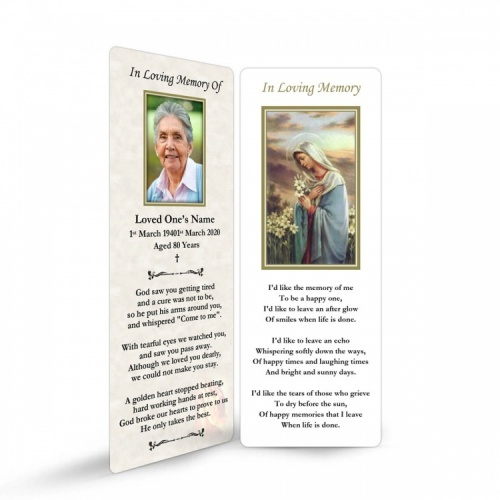 MAR19 Memorial Bookmark
