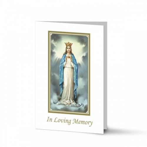 Our Lady Of Knock In Memoriam Laminated Memorial Cards Catholic - MAR20