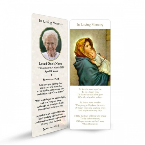 MAR25 Memorial Bookmark