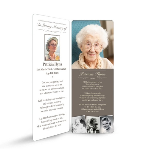 MOD01 Memorial Bookmark