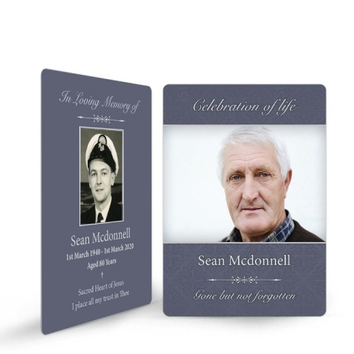 MOD02 Memorial Wallet Card