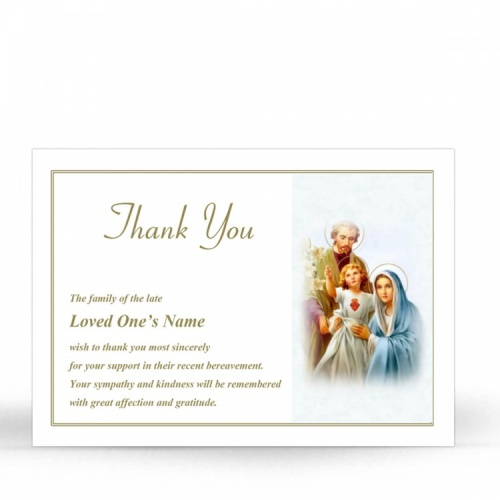 REG100 Memorial Thank You Card