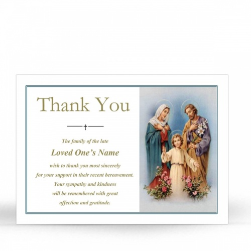 REG67 Memorial Thank You Card