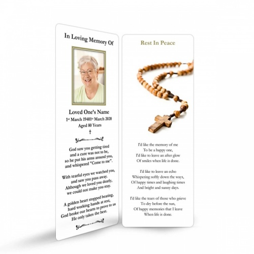 REG05 Memorial Bookmark
