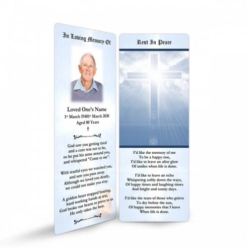 REG24 Memorial Bookmark