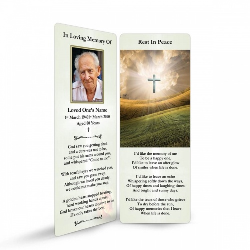 REG32 Memorial Bookmark