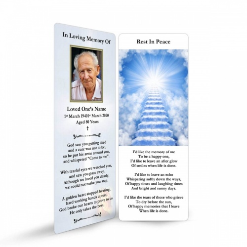 REG33 Memorial Bookmark