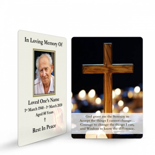 Memorial Holy Cards Tributes