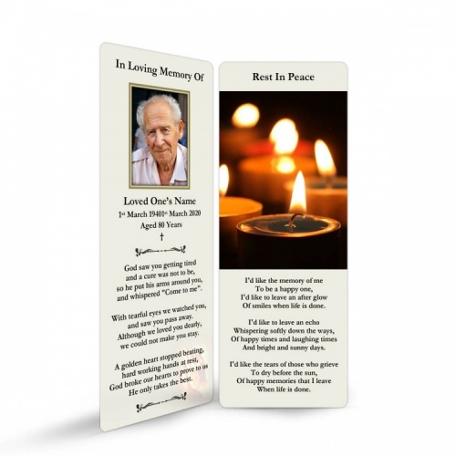 REG94 Memorial Bookmark